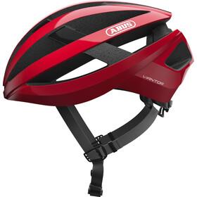 ABUS Viantor Casco bici da corsa, rosso